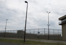View of Maryland prison